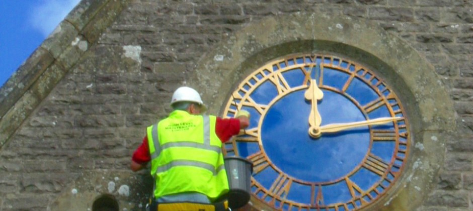 Clock Face and Weather Vane Maintenance